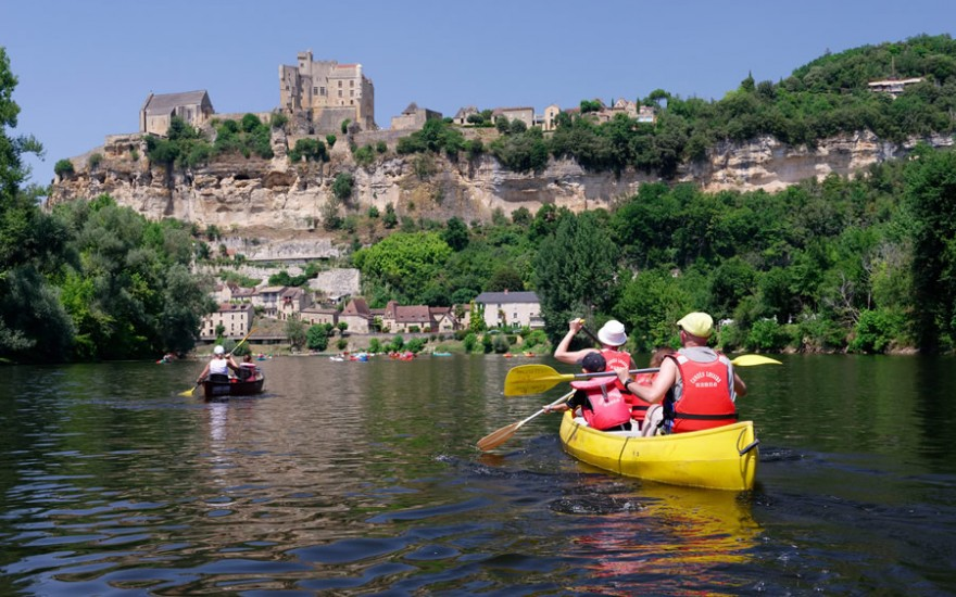 Descente canoë Dordogne